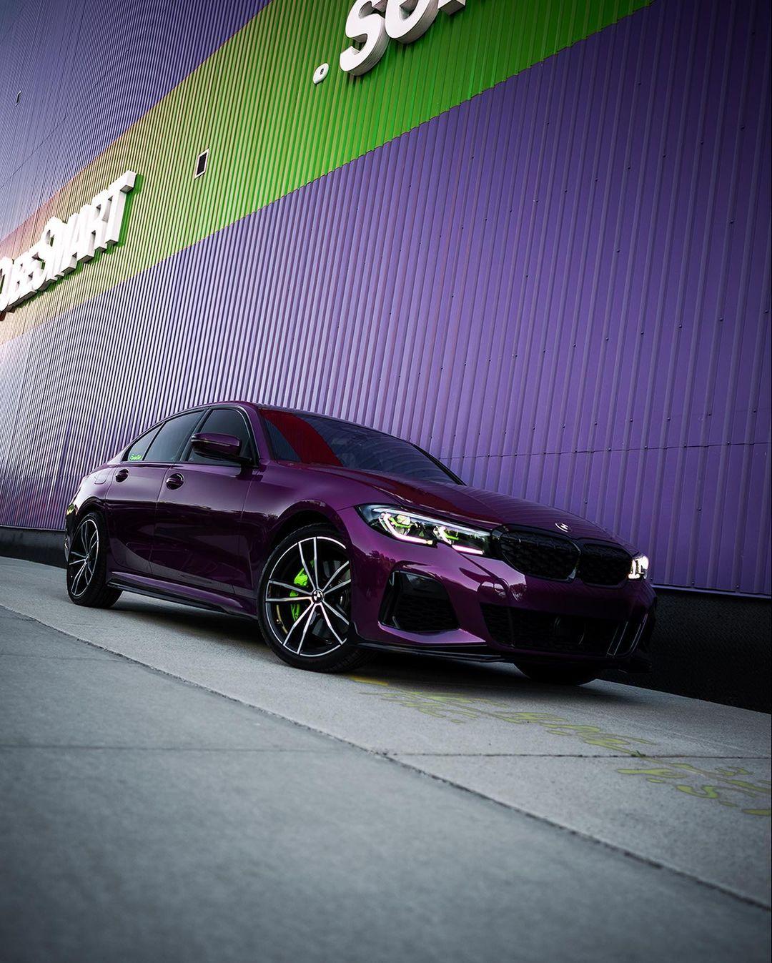 Twilight Purple M340i