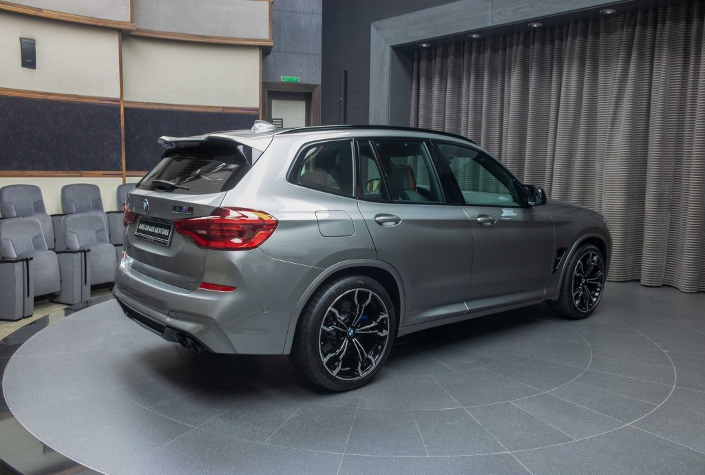 BMW X3 M Competition in Donington Grey with Tartufo Interior