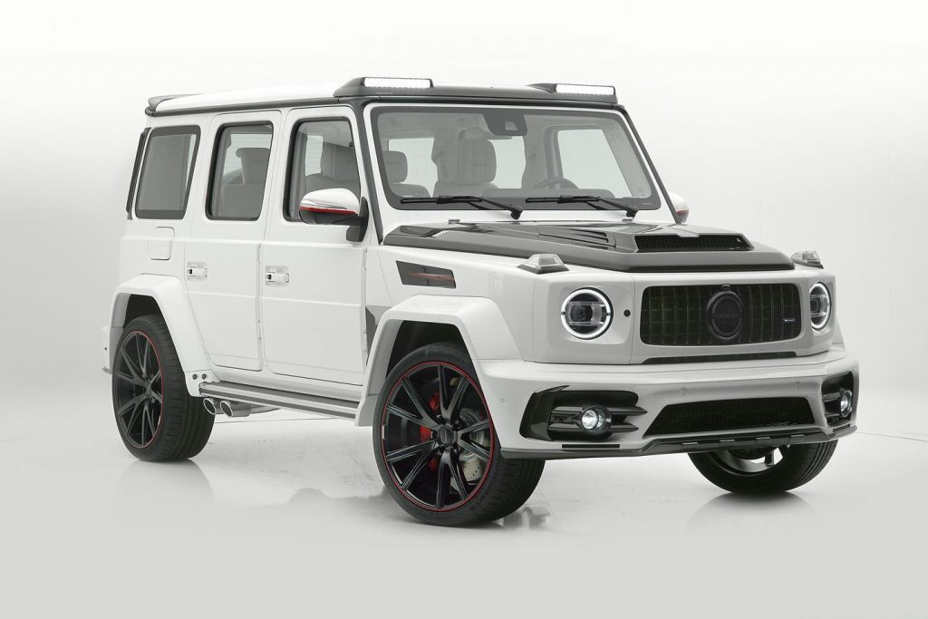 2020 Mercedes G63 with Mansory body kit