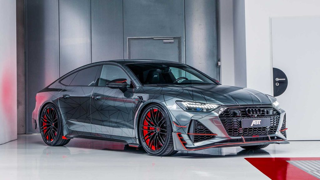 Audi RS7-R ABT Sportsline a Beast of 740 hp