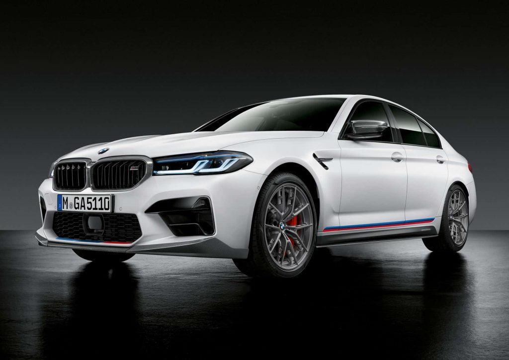 2021 BMW M5 and BMW M5 Competition Gets BMW M Performance Parts