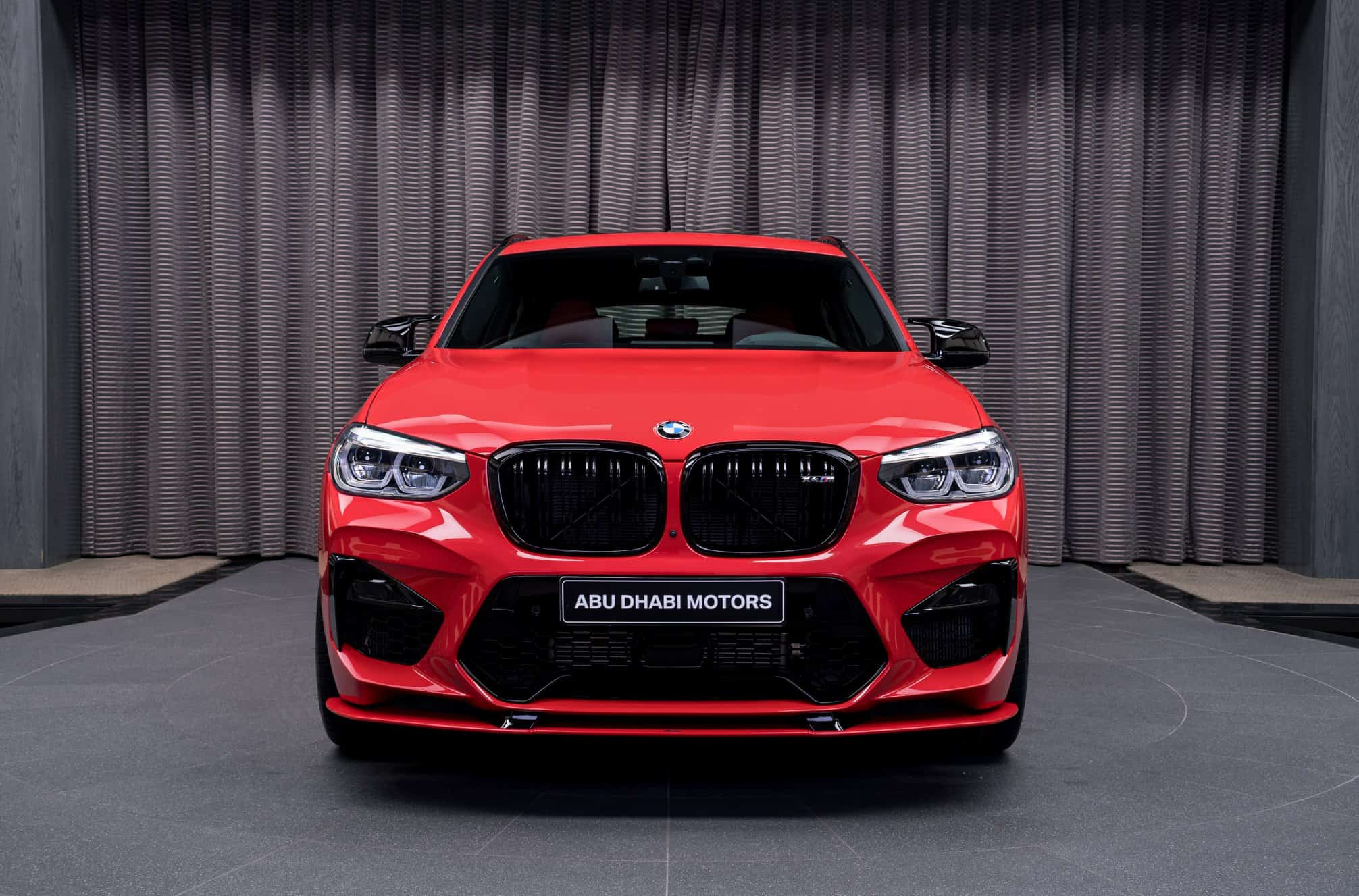 BMW X4 M Competition in Toronto Red by AC Schnitzer