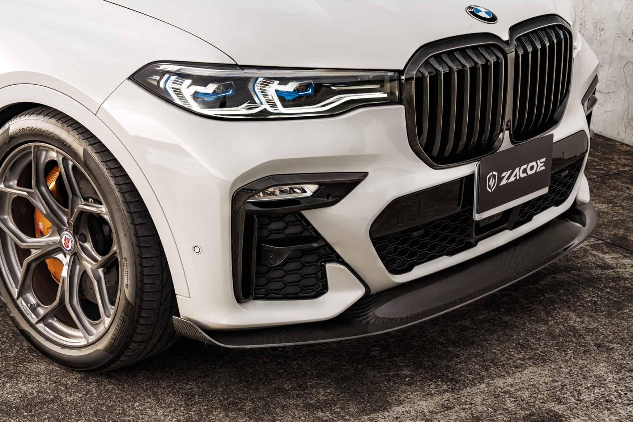 BMW X7 aero kit by Zacoe designers