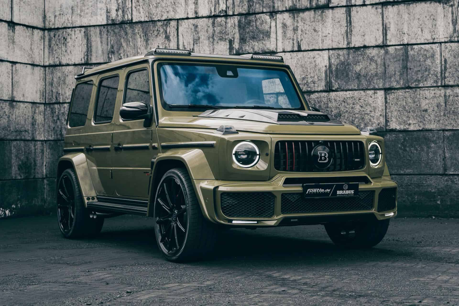 BRABUS Mercedes G63 in Army Look
