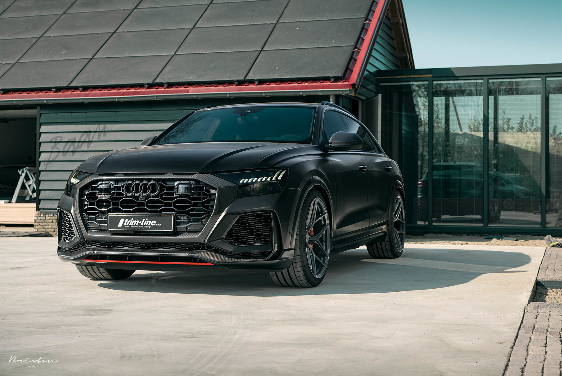 Baan Velgen Gives the Audi RS Q8 a Touch of Aggression