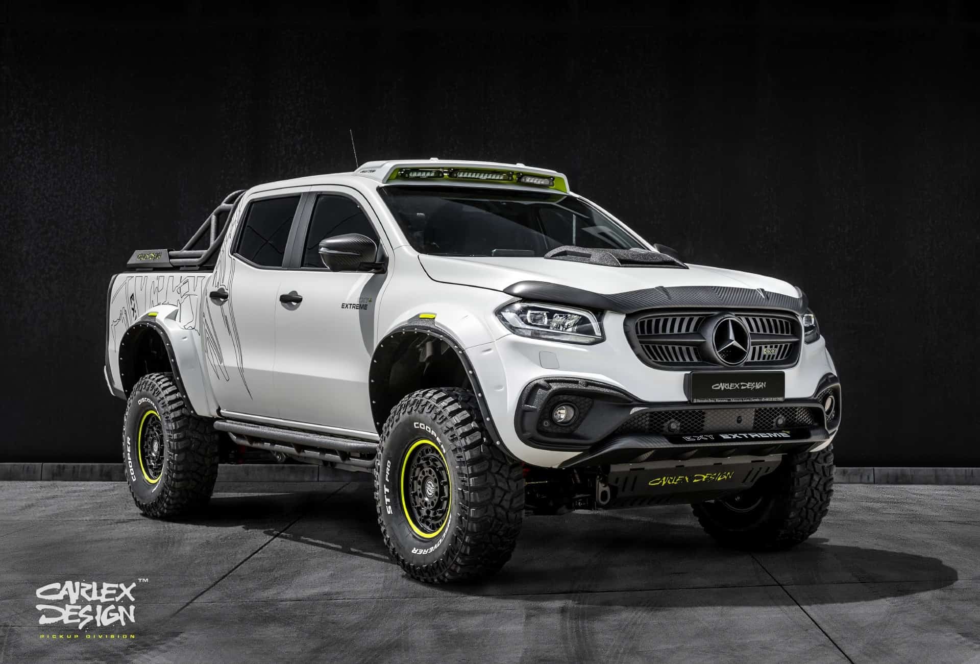 Extreme Mercedes X-Class by Pickup Design
