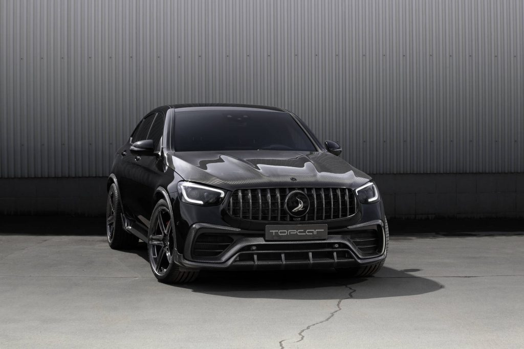 Mercedes-AMG GLC 63 S Coupe with Inferno body kit