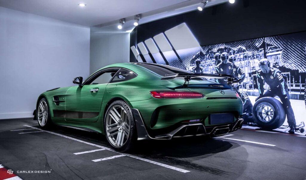 Mercedes AMG GT R PRO Tattoo Edition by Carlex Design