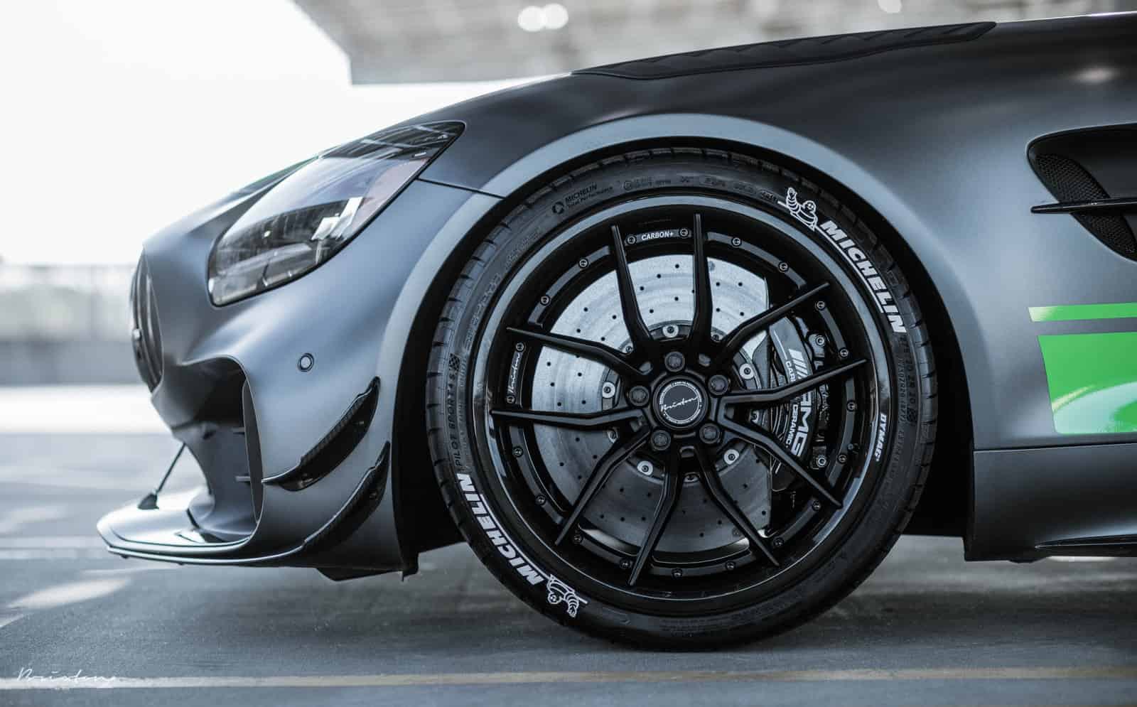 Mercedes AMG GTR Pro in Brixton Forged Wheels