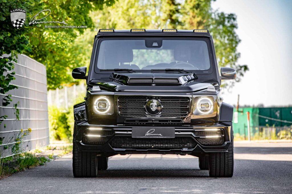 Mercedes G-CLASS 2020 by LUMMA Design CLR G770