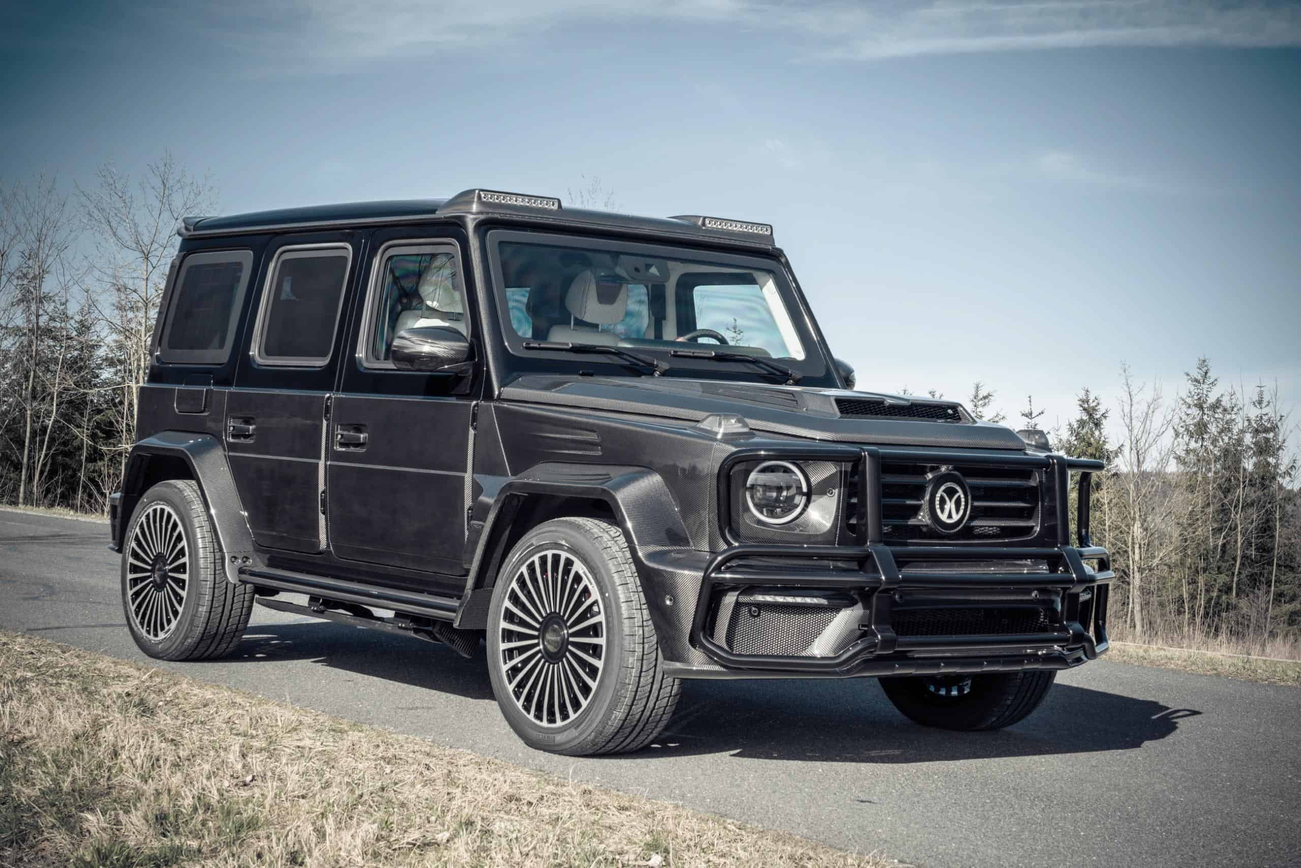 Mercedes G63 Armored by Mansory