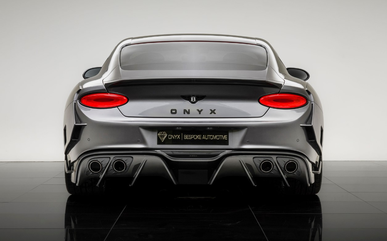 Onyx Creates Sinister Wide-body Kit for Bentley Continental GT