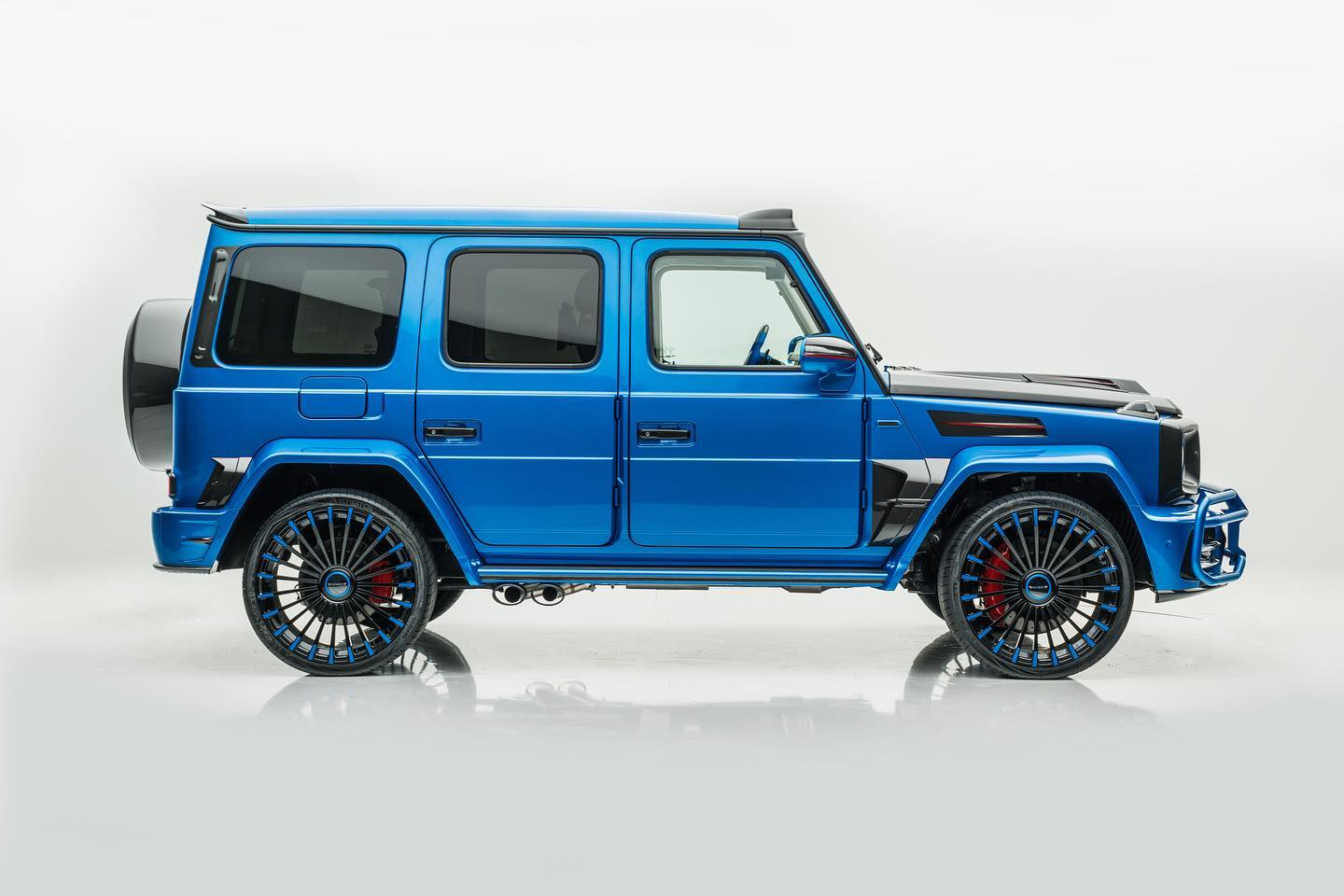 South Sea Blu Looks Perfect On The Mansory Mercedes G 63