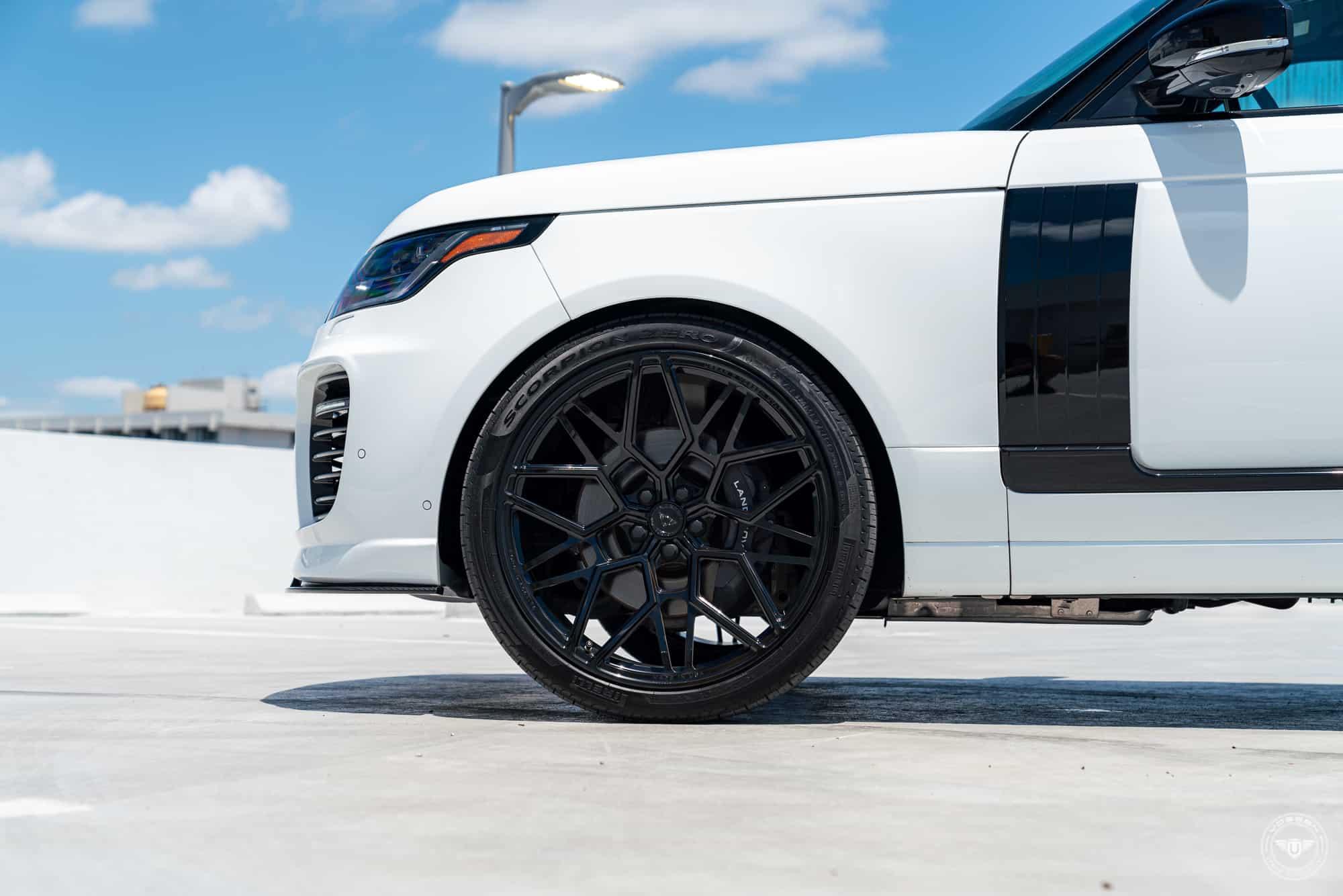 Land Rover Range Rover by Urban Automotive & Vossen Wheels