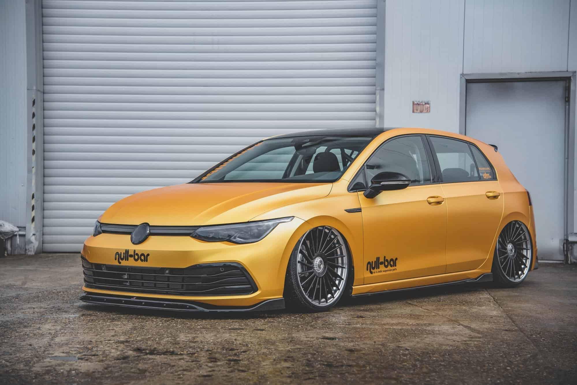 Volkswagen Golf 8 Gets New Aero Parts
