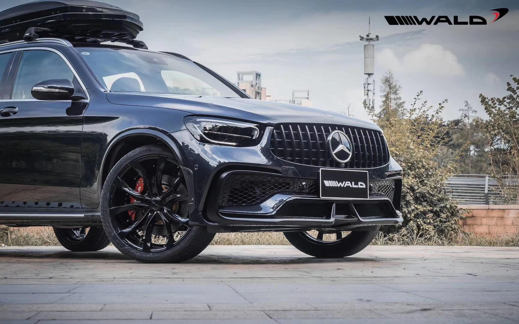 WALD Makes the Mercedes GLC Even More Aggressive
