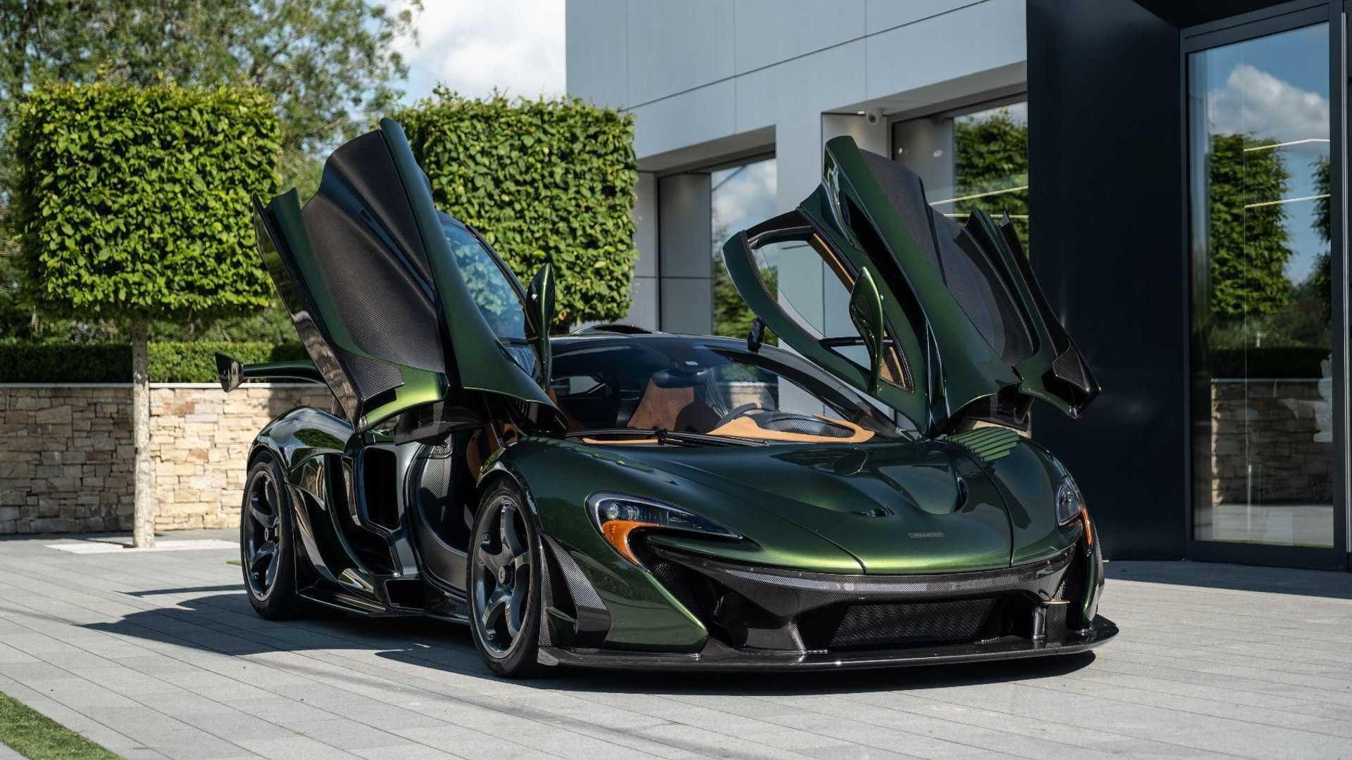 McLaren P1 HDK super hybrid