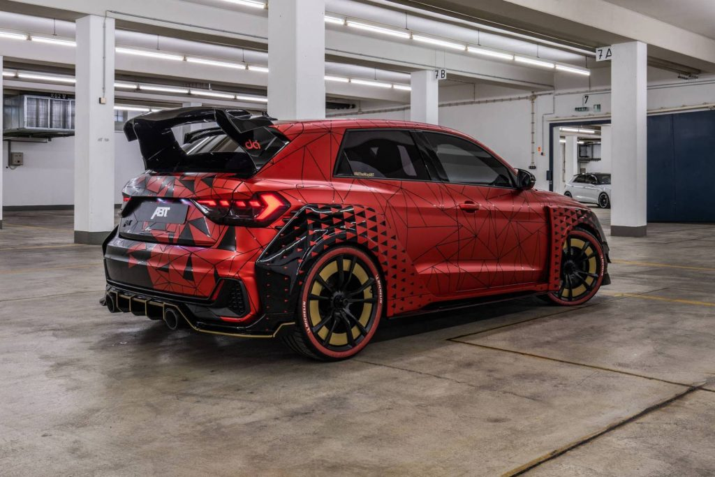 ABT presents 2020 Audi A1 1of1