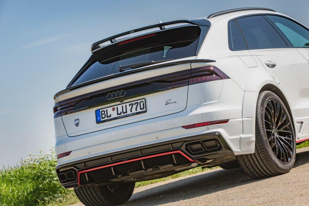 2020 Audi Q8 by Lumma Design