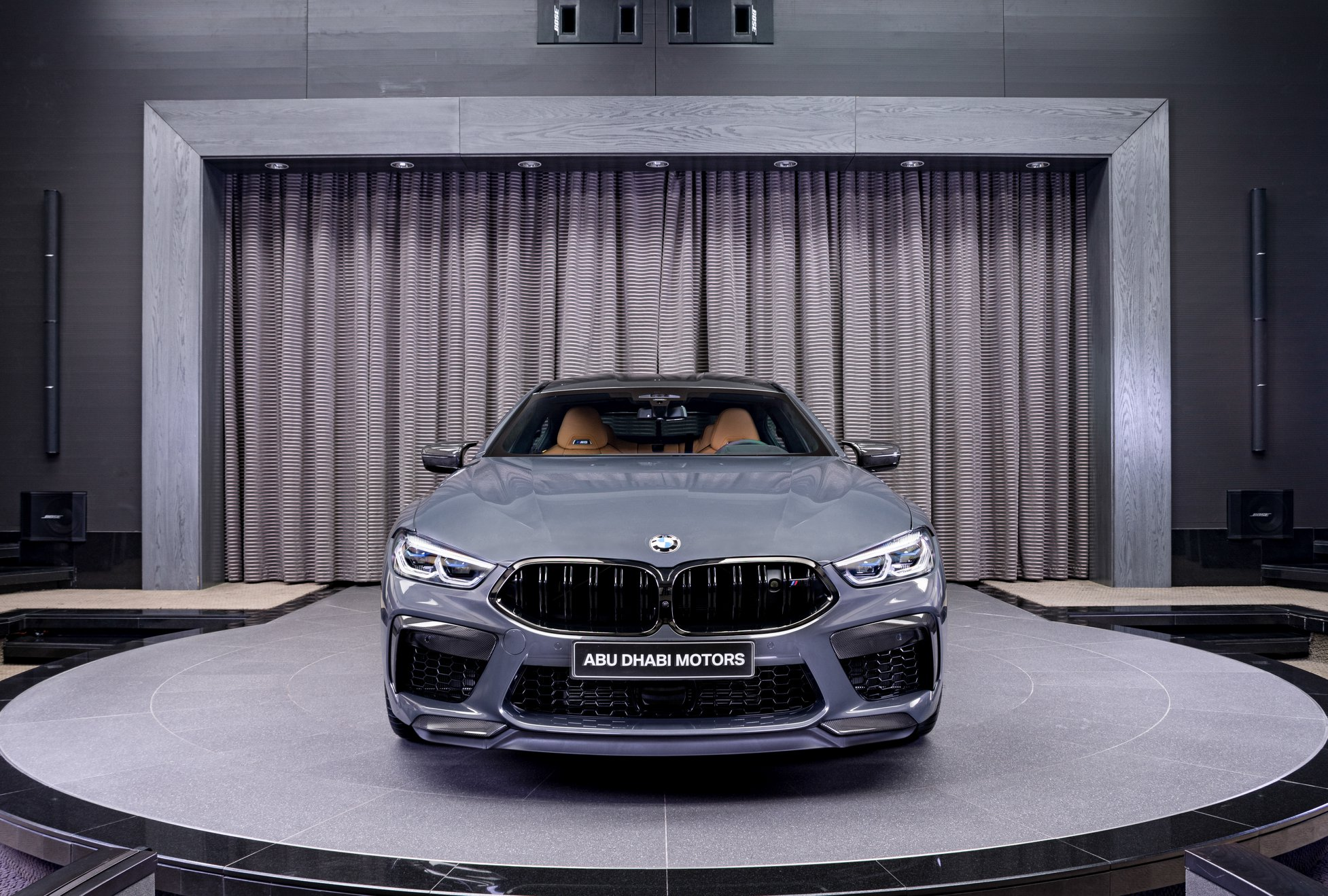 2020 BMW M8 Gran Coupé Competition Package in Brands Hatch Grey