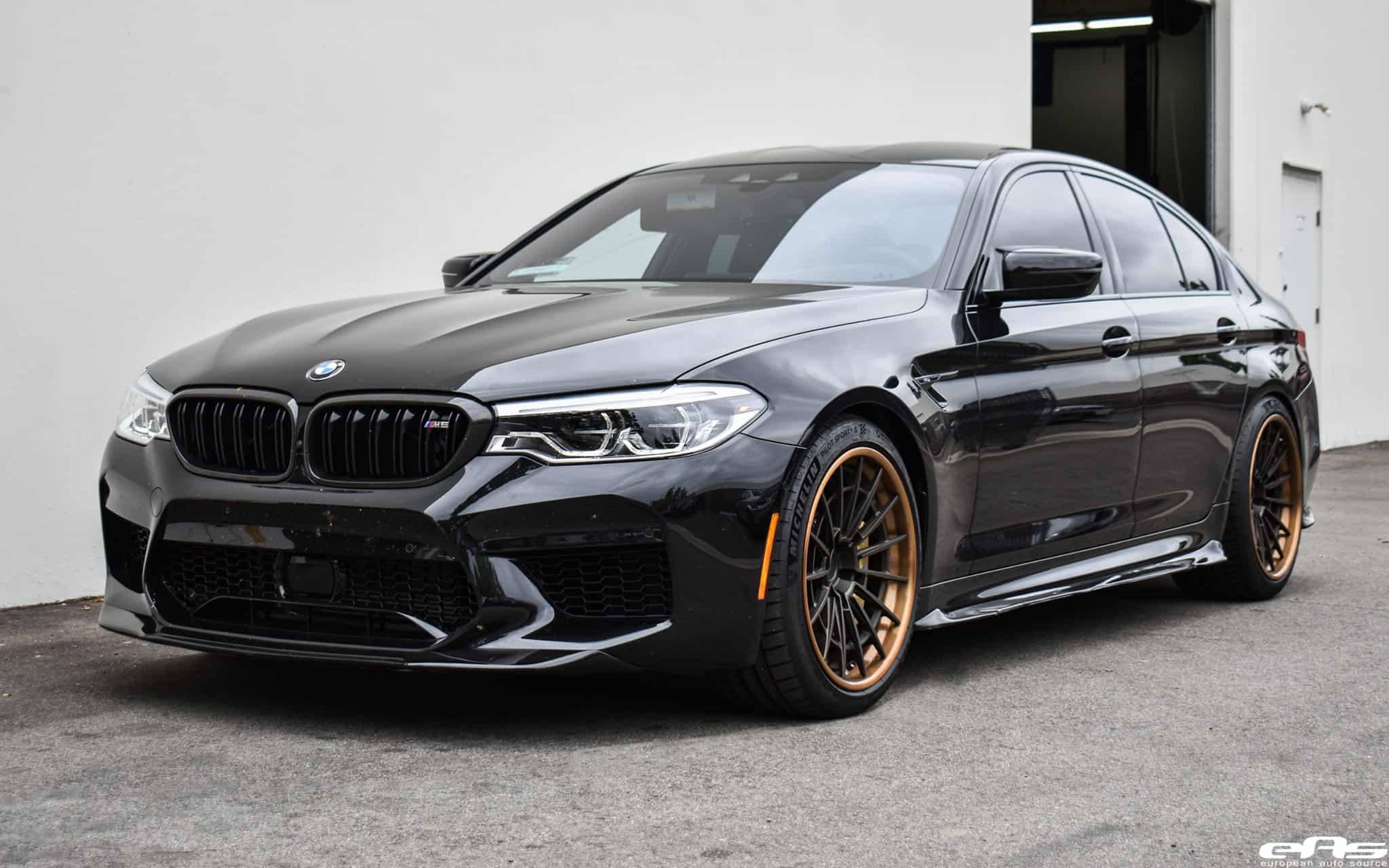 2020 Black Sapphire Bmw F90 M5 Competition DINMANN Aero Kit