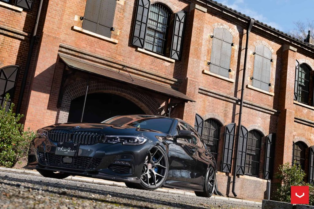 2020 Bmw 3-Series G20 3D Design Body Kit & Vossen Wheels