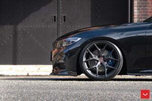 2020 Bmw 3-Series G20 3D Design Body Kit & Vossen Wheels
