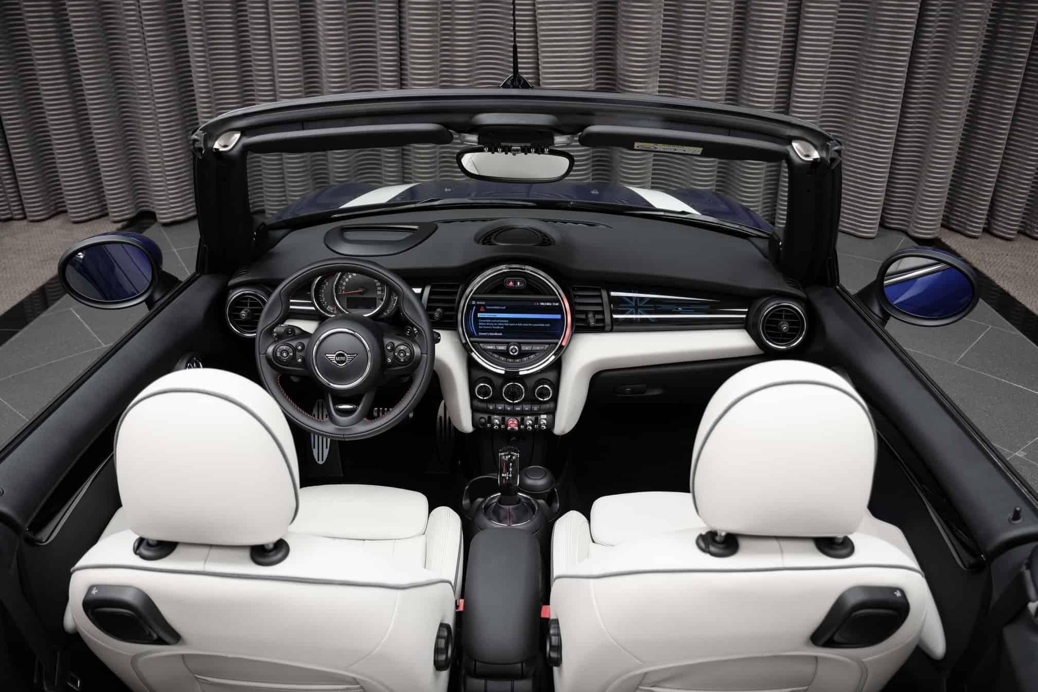 The all-new 2020 MINI Cooper S Convertible Interior ...