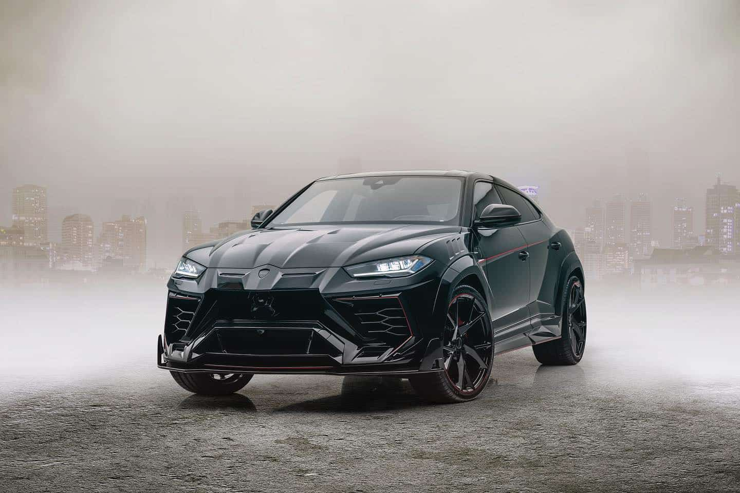 2020 Mansory Venatus based on Lamborghini Urus