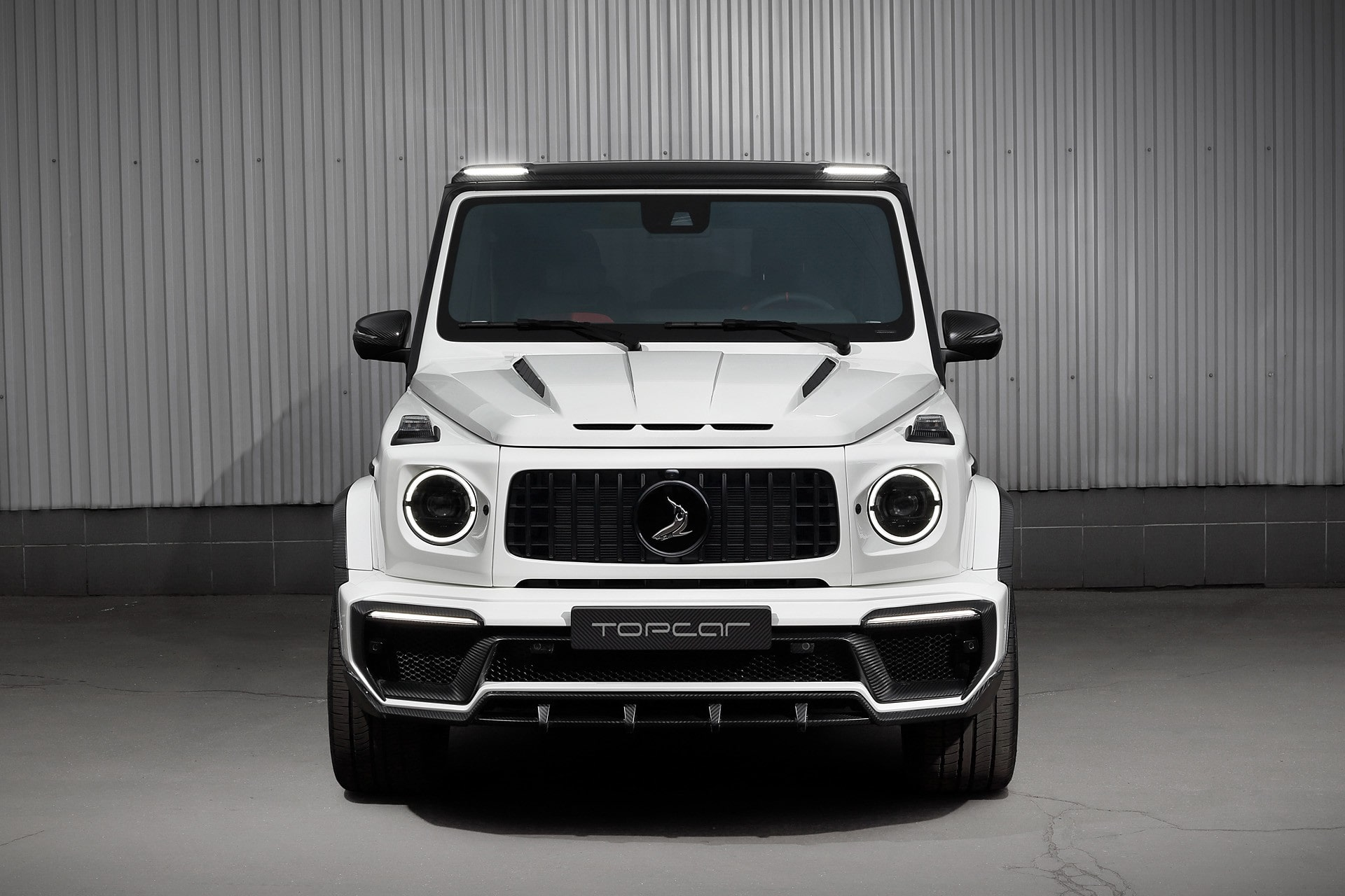White Mercedes-AMG G63 Edition 1 by TOPCAR Design