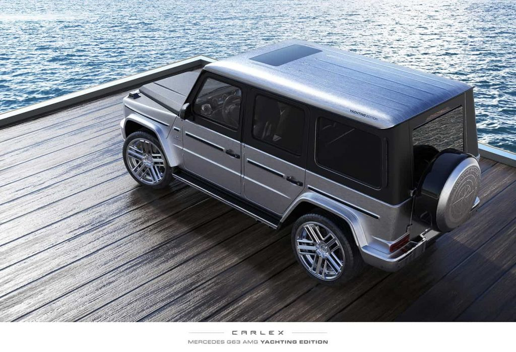 2020 Mercedes G 63 AMG G-Yachting Styling Package