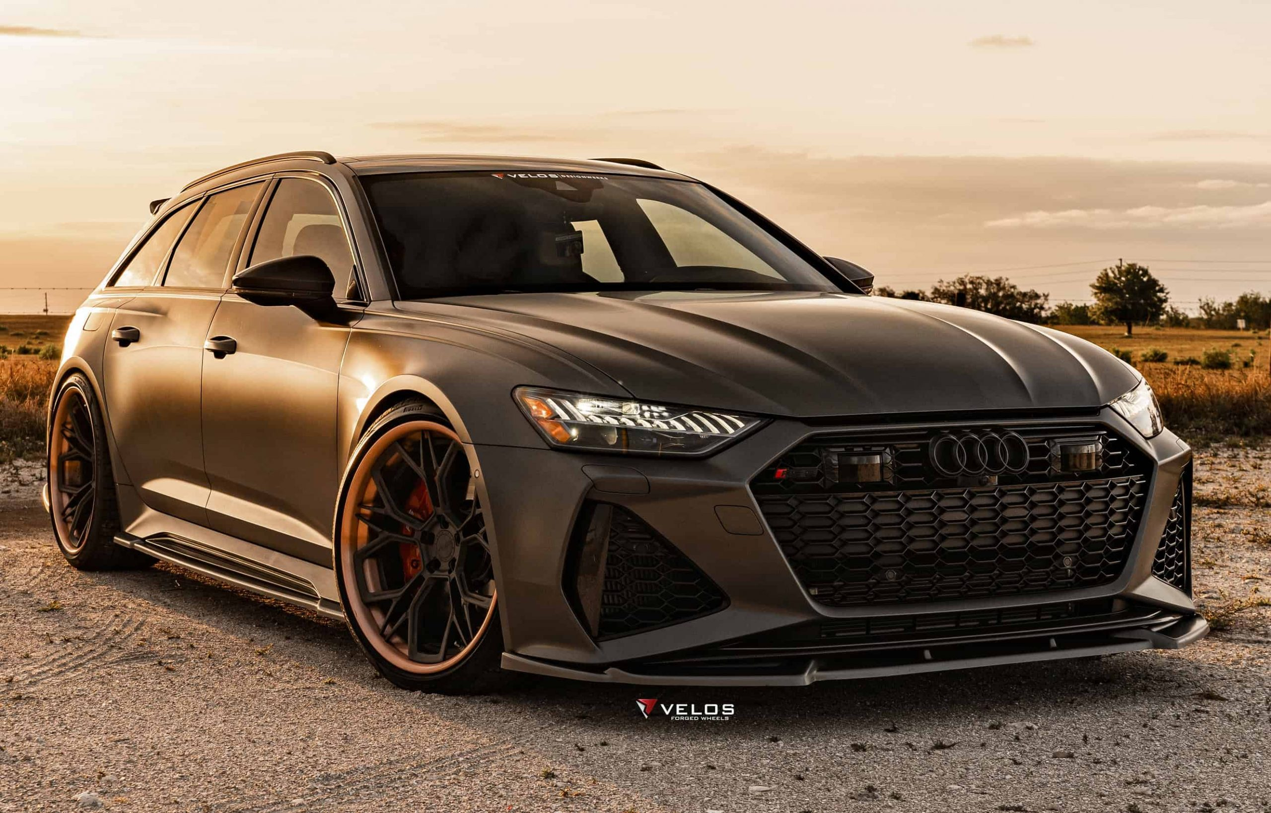 2021 Audi RS6 Aero Kit Maxton Design & Velos Wheels