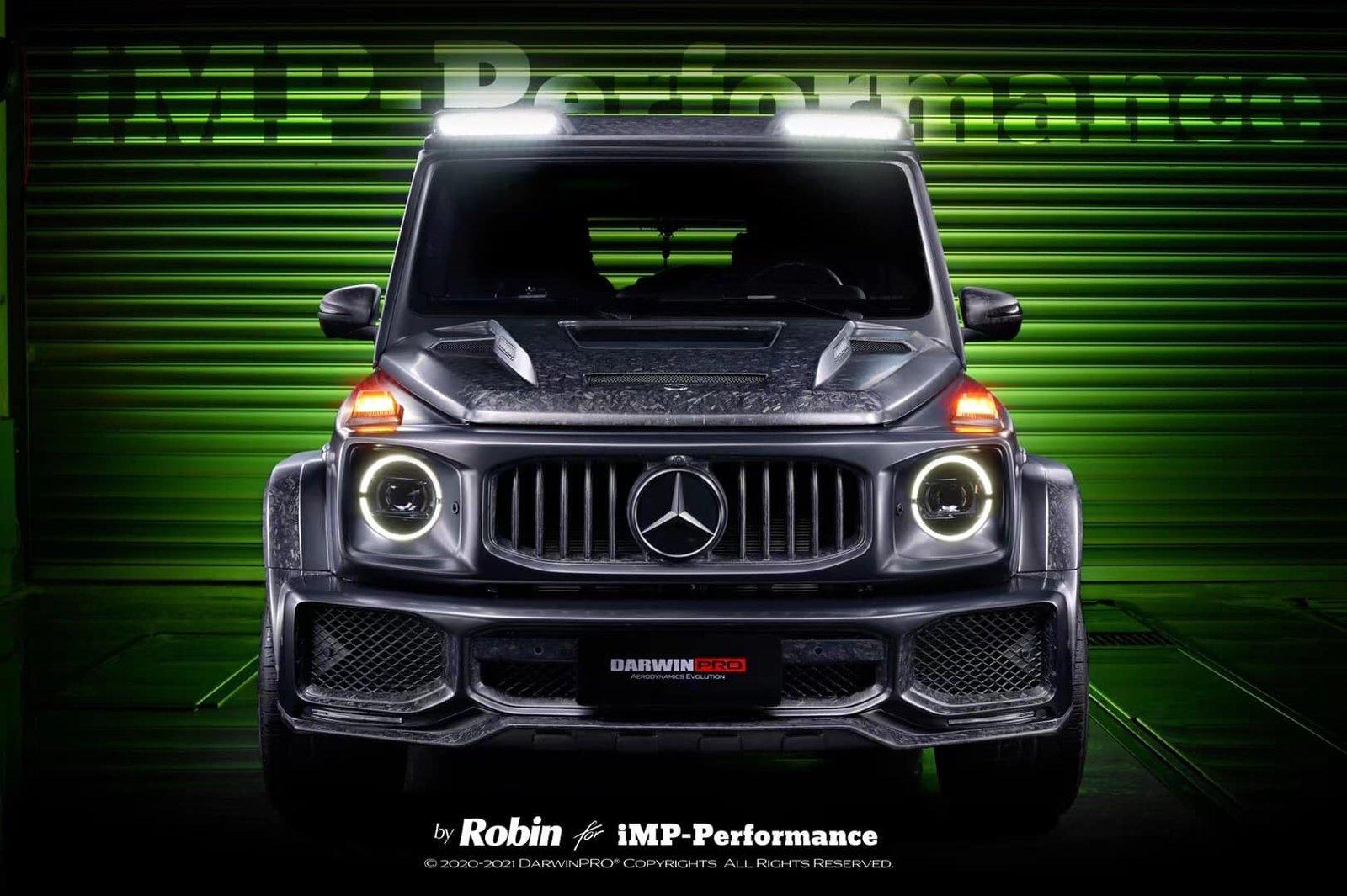 2021 Mercedes-AMG G63 Body Kit DarwinPro IMP