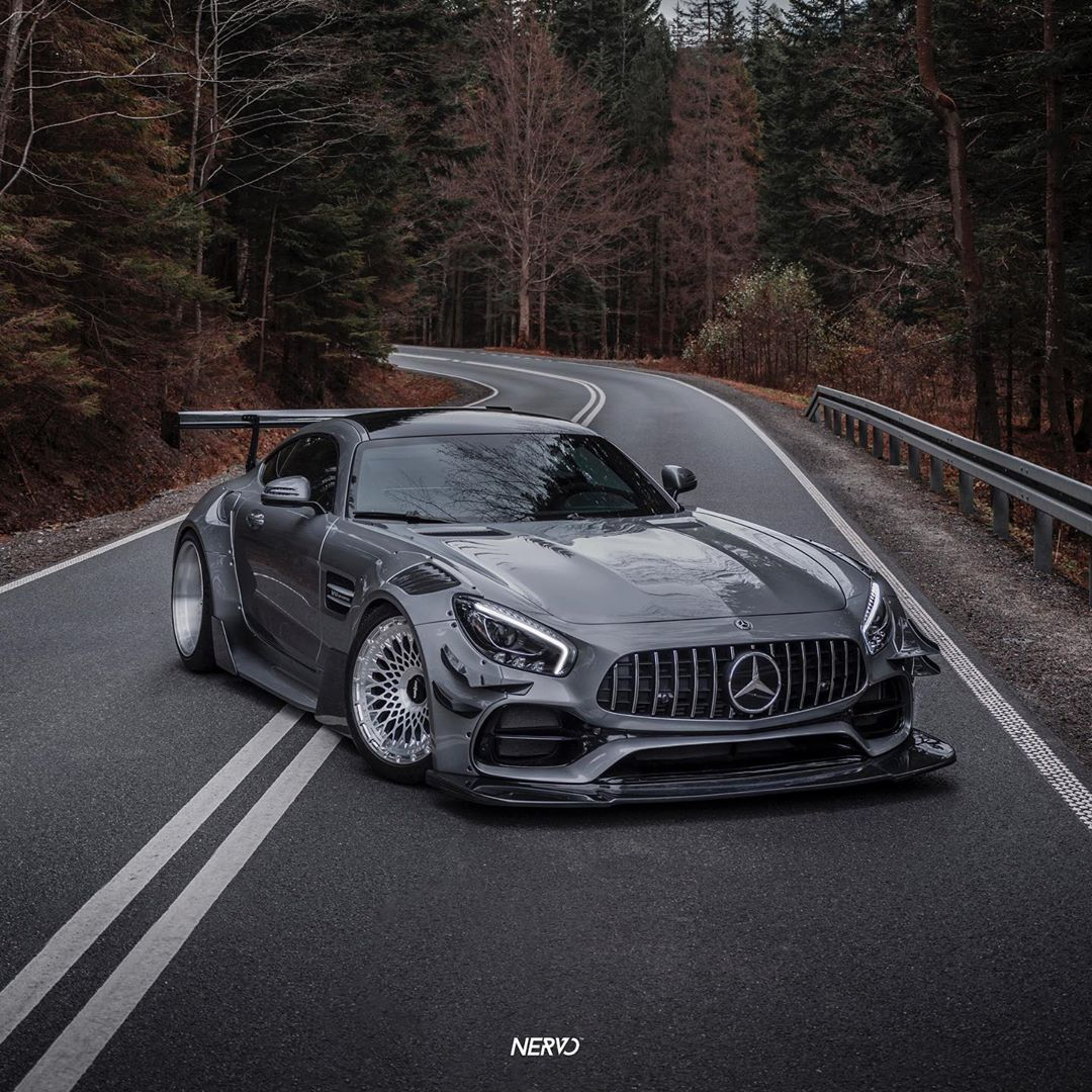 Mercedes AMG GT S Widebody