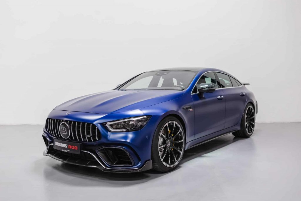 Aggressive Mercedes GT 63 S AMG by Brabus 800