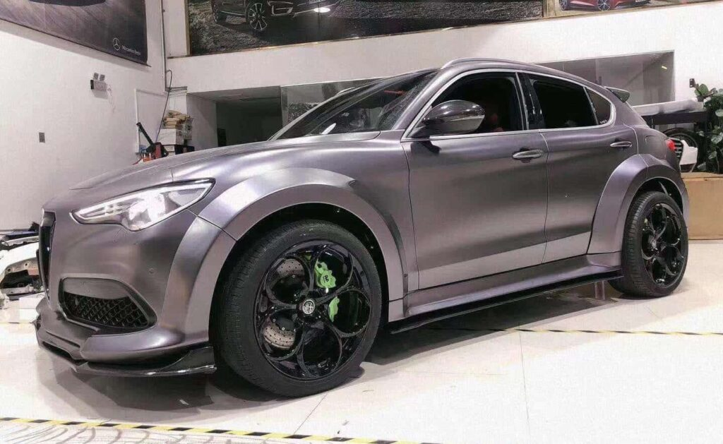 Alfa Romeo Stelvio Wide body kit by SD Carbon