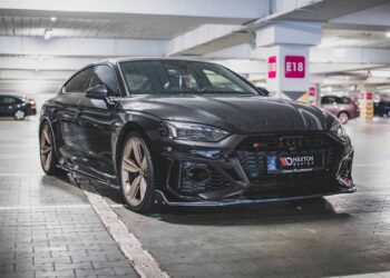 Audi RS5 new aero kit Maxton Design