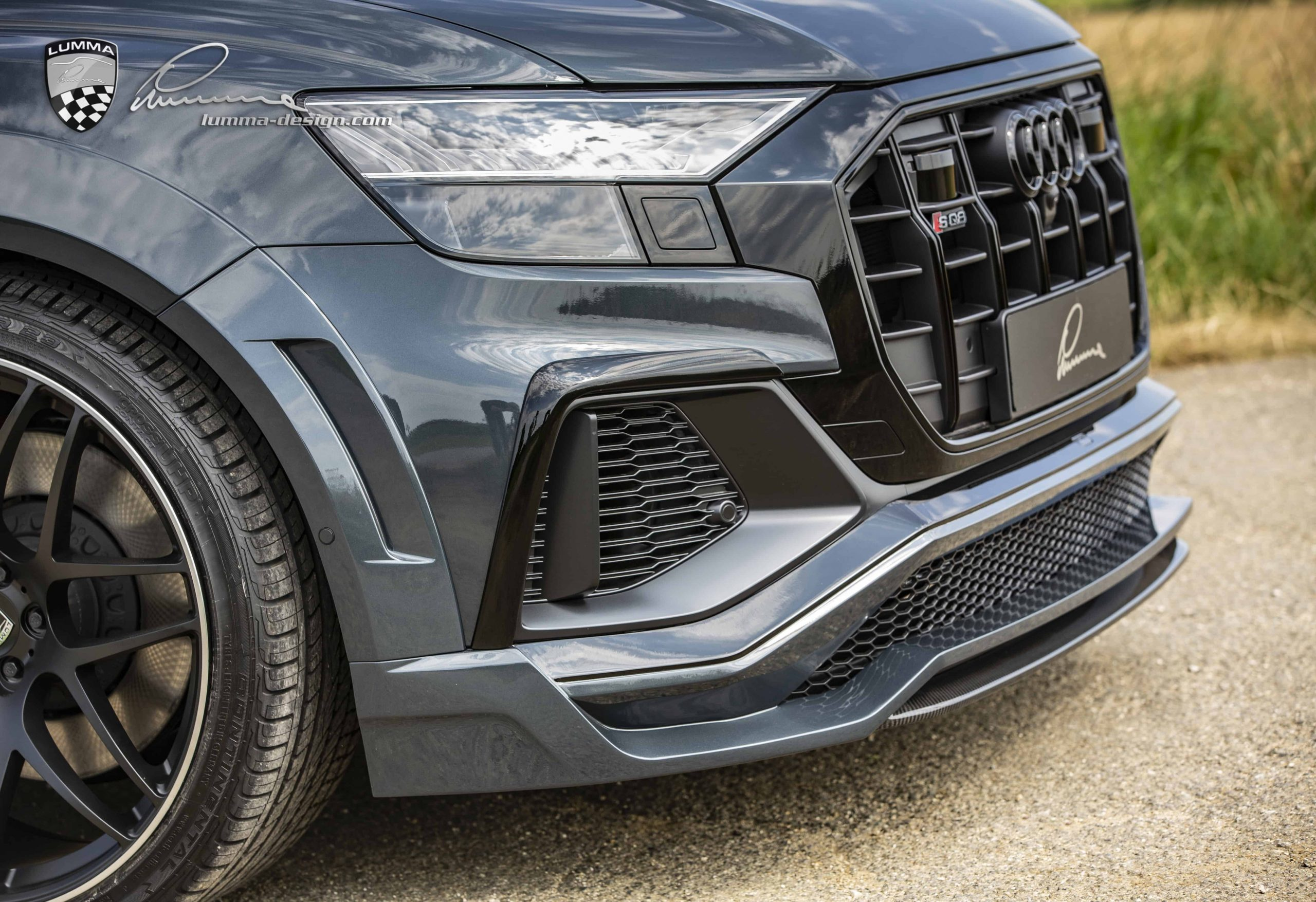 Audi SQ8 widebody kit by Lumma Design