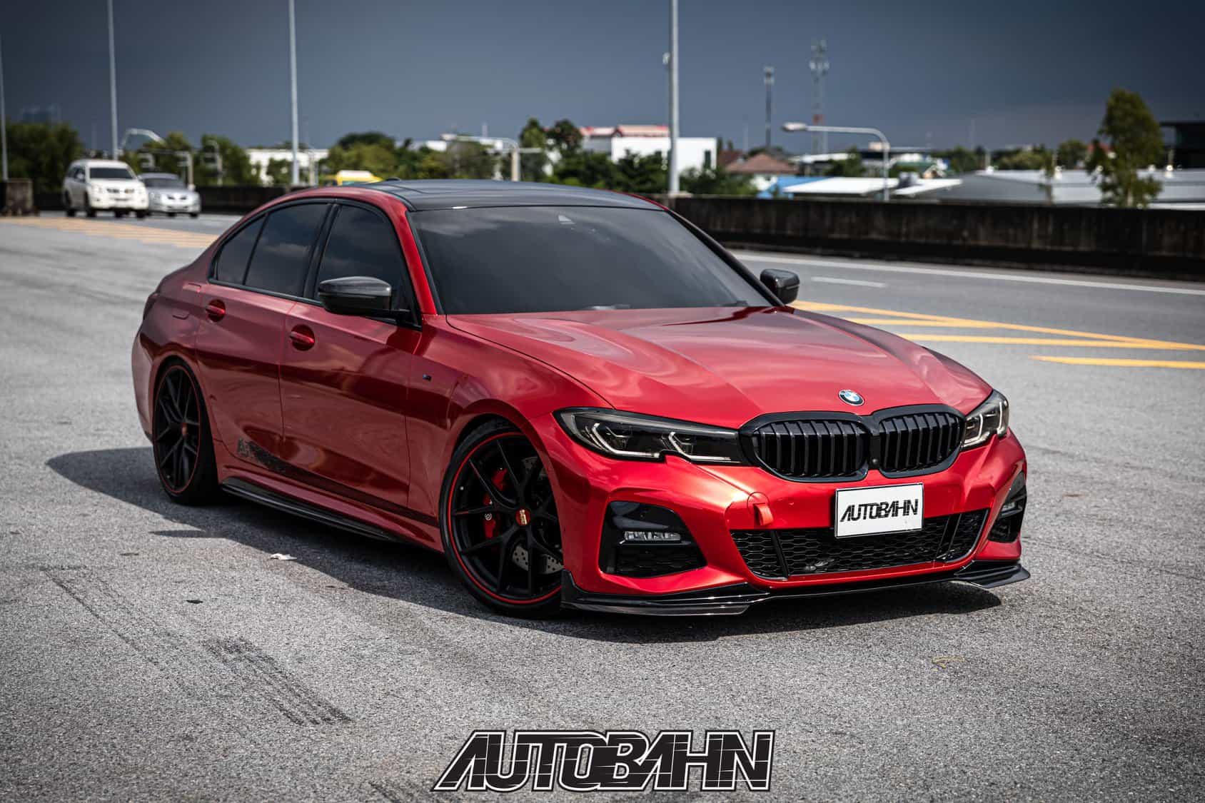 BMW 3 G20 M Performance Body Kit & BBS Wheels