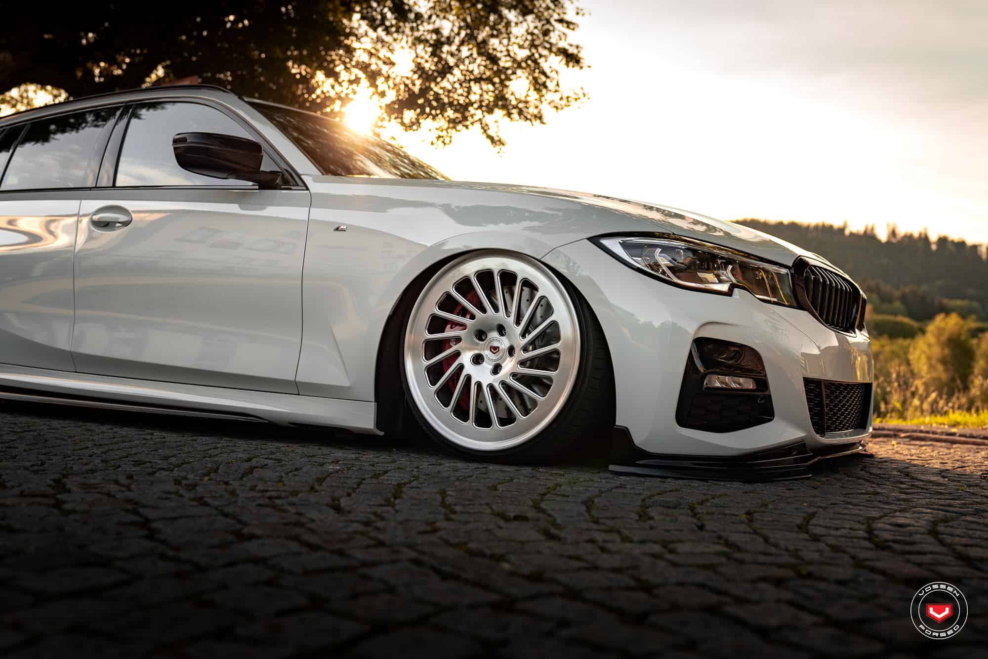 BMW 3 G21 M Performance Vossen Wheels