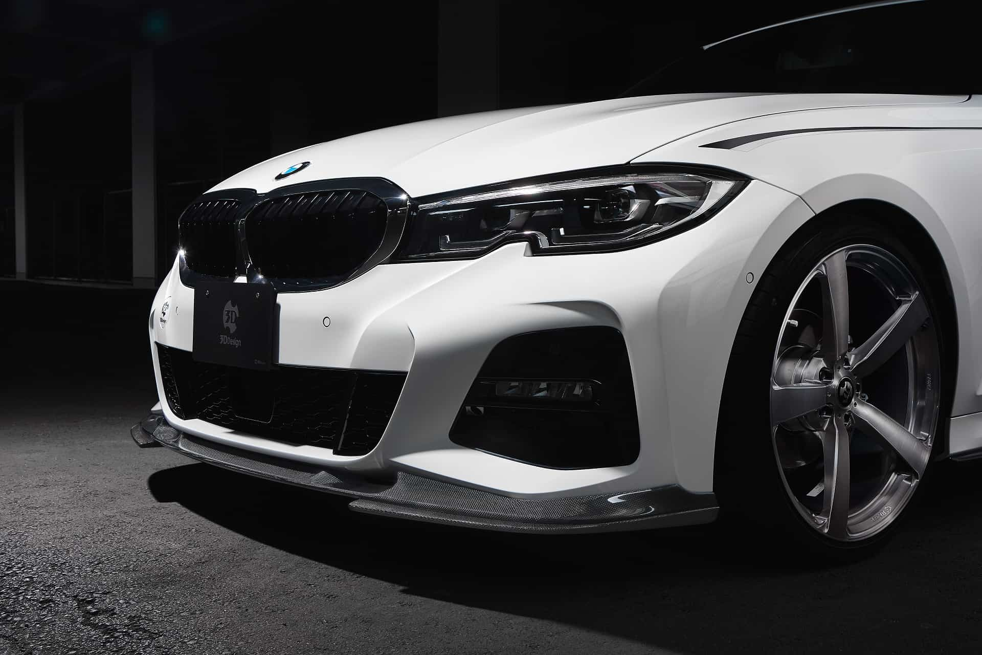 Aerodynamics and body kits for BMW 3 Series G20, G21 by 3Ddesign