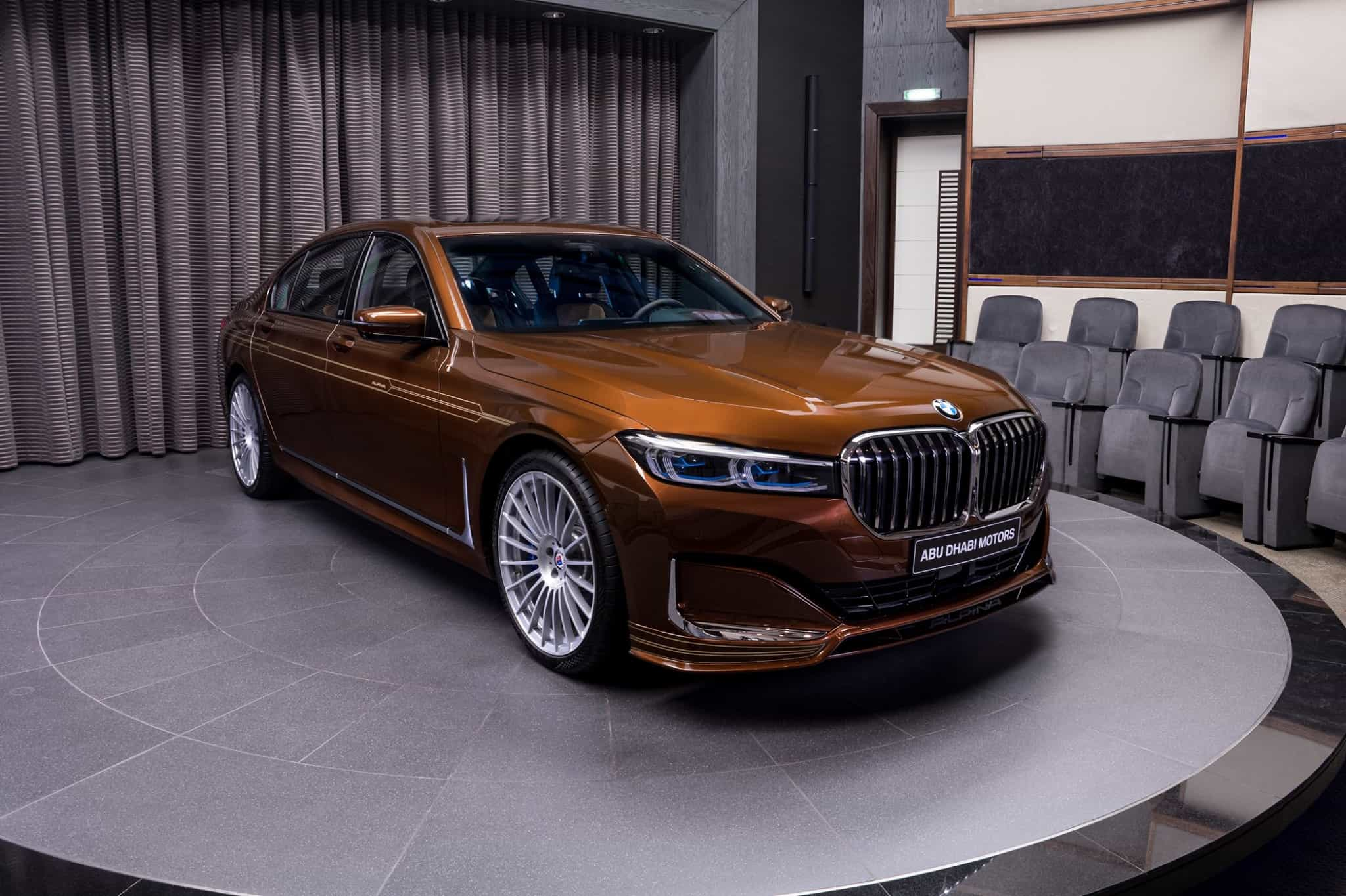BMW Alpina B7 Individual Chestnut Bronze Metallic
