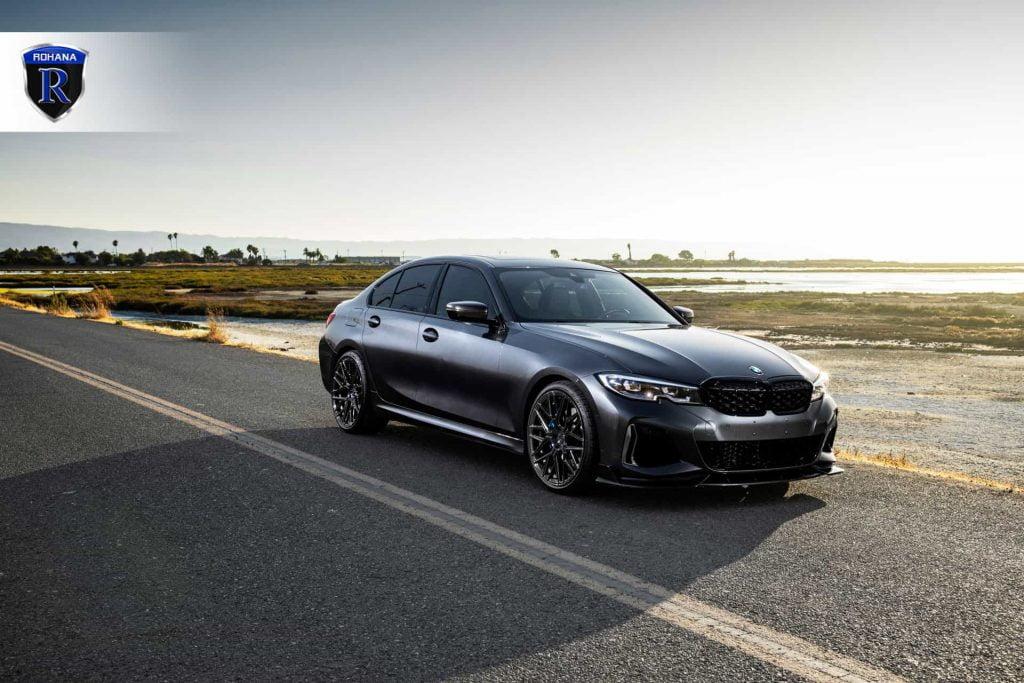 BMW M340i Looking Good on Rohana Wheels