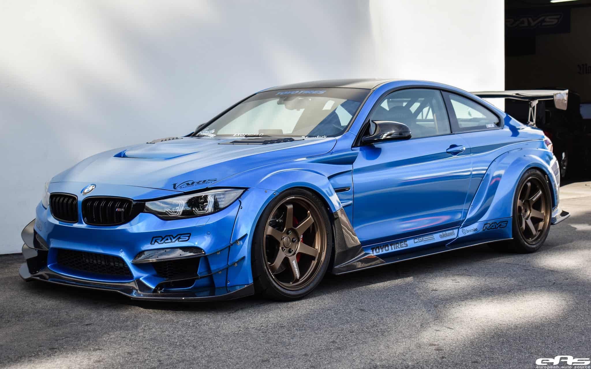 BMW M4 - Varis Body Kit & RAYS Wheels