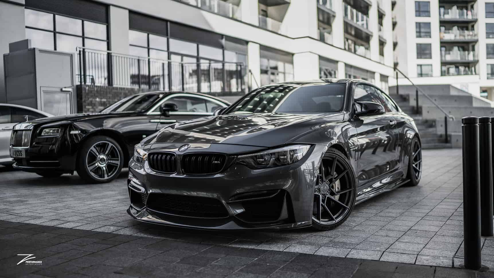 BMW M4 F82 with Z-Performance wheels
