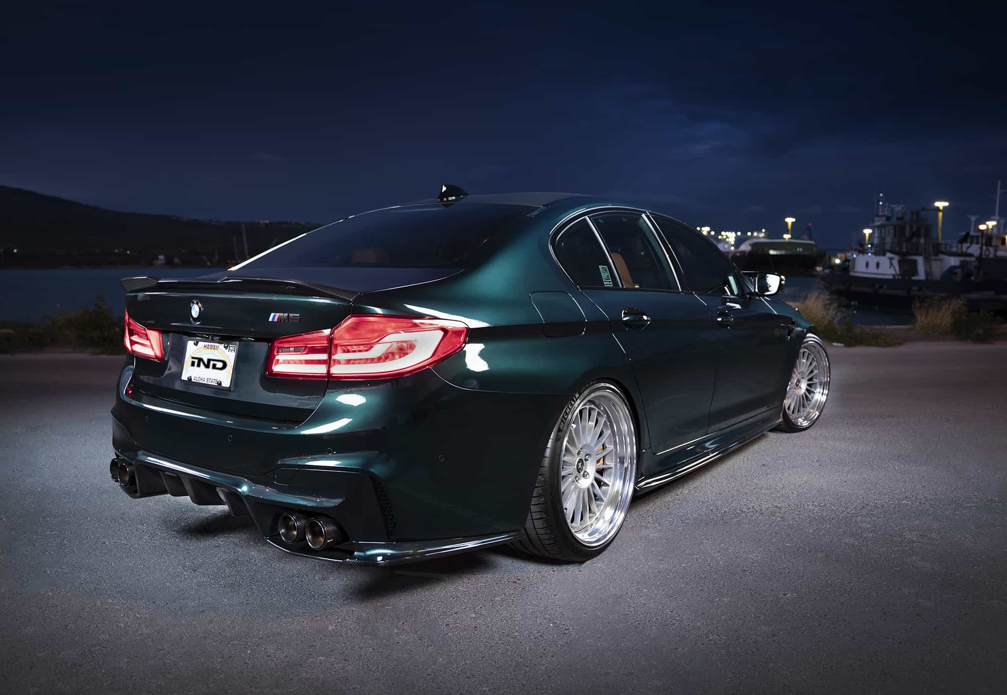 BMW M5 F90 With 3D Design Aero And HRE Wheels