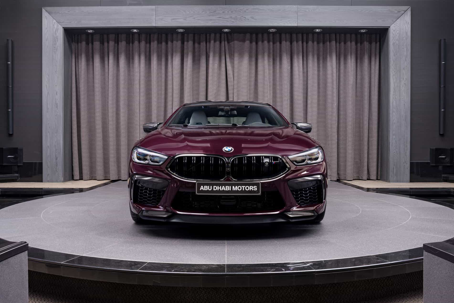 BMW M8 Competition Gran Coupé in Ametrine