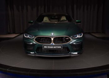 Aurora Diamant Green Metallic BMW M8 Gran Coupe First Edition