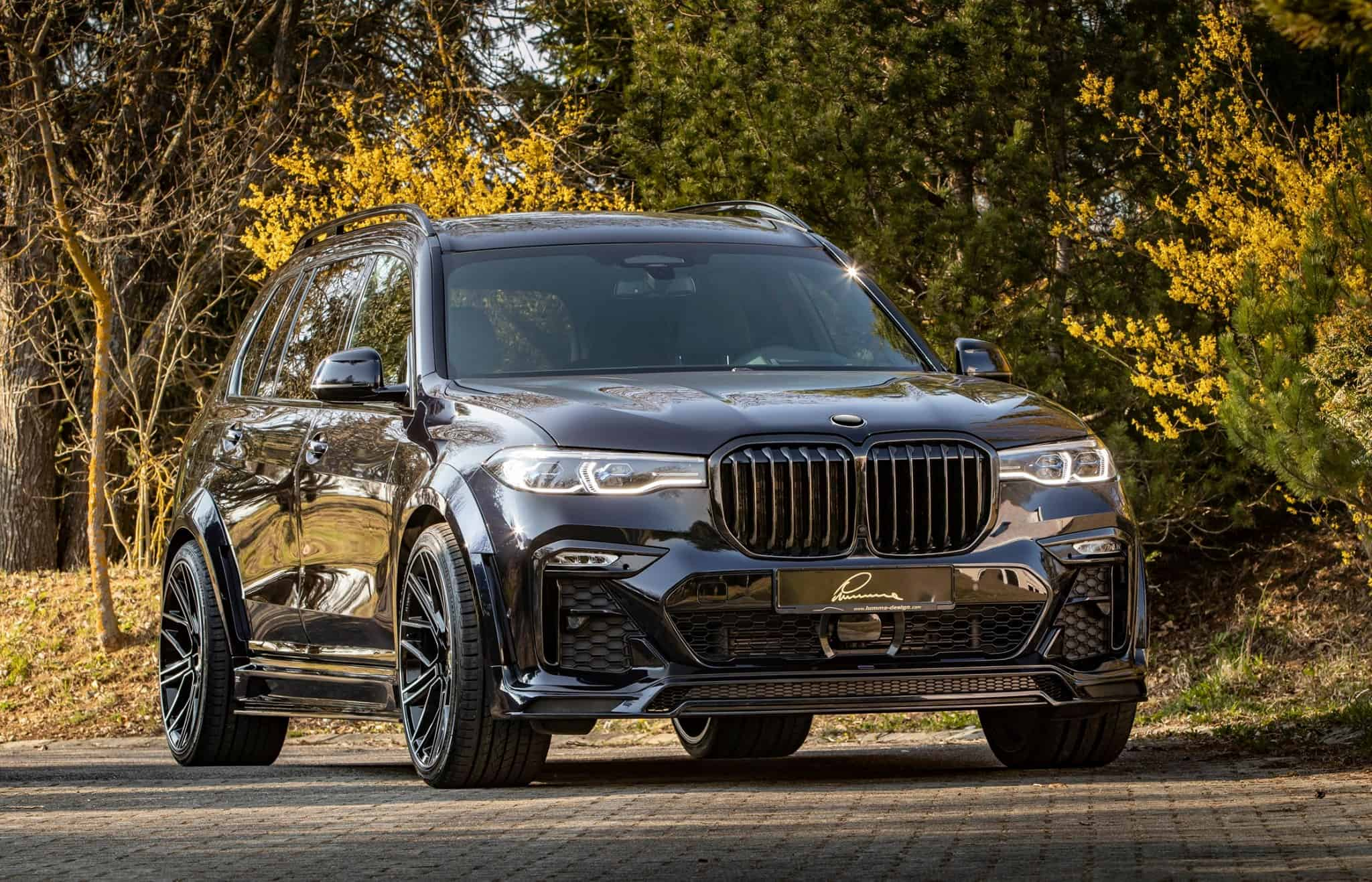 BMW X7 Widebody Lumma CLR