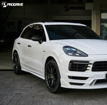 Black Bison Porsche Cayenne by Wald